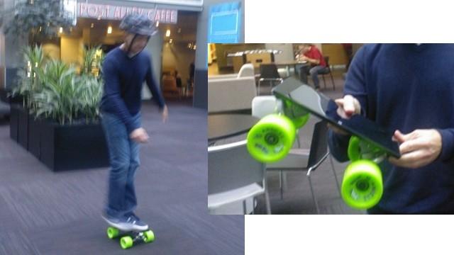 Steven Sinofsky Surface Skateboard