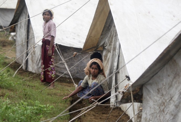 Camp For Rohingya Muslim Refugees