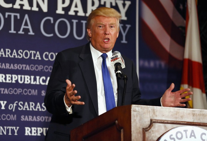 Donald Trump lambasted US leaders for deciding to treat American Ebola victims in the US.