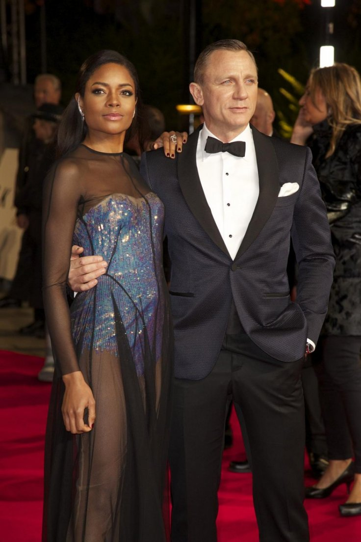 Daniel Craig and Naomie Harris.