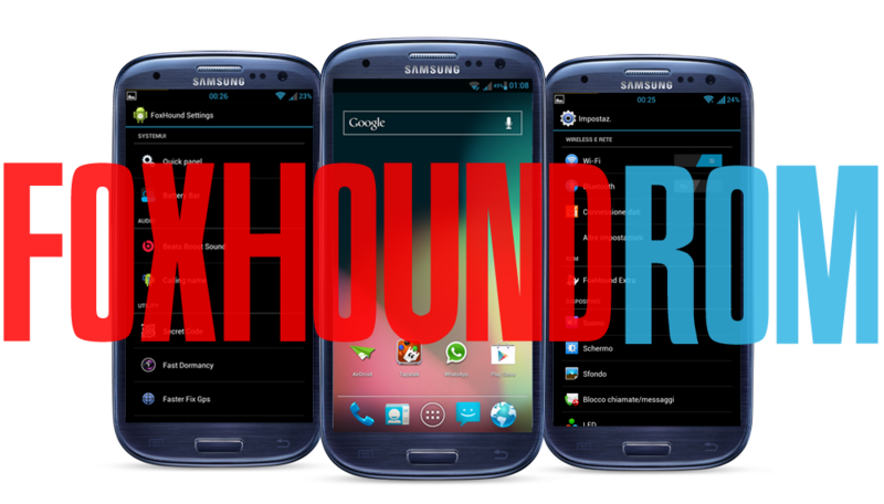 Galaxy S3 I9300 Gets New Jelly Bean Update with FoxHound ROM [How to Install]