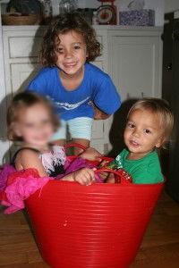 Murdered Krim children