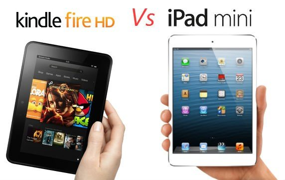 iPad mini vs Kindle Fire HD