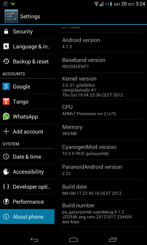 Galaxy S I9000 Gets Tablet UI with Paranoid Jelly Bean Custom ROM [How to Install]