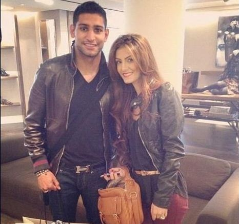 Boxer Amir Khan reportedly cheated on his fiancee by with two girls on the same day.