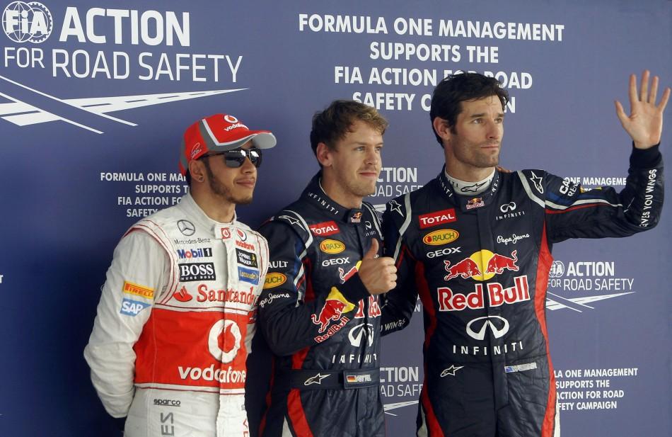 Hamilton - Vettel - Webber