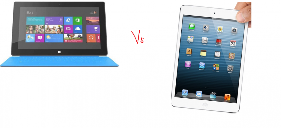Microsoft Surface v Apple iPad