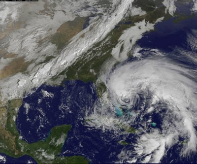 Hurricane Sandy Satellite Images