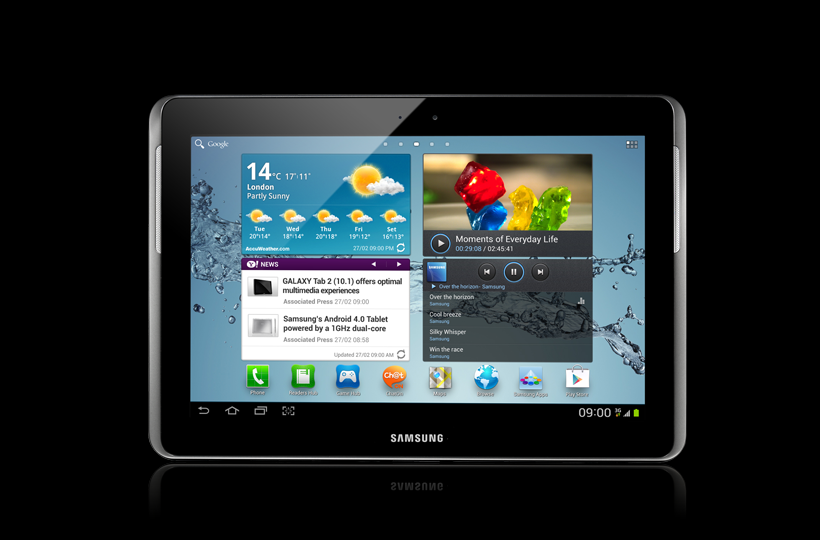 Root XWALE2 Android 4.0.3 on Galaxy Tab 2 10.1 P5100 Official Firmware