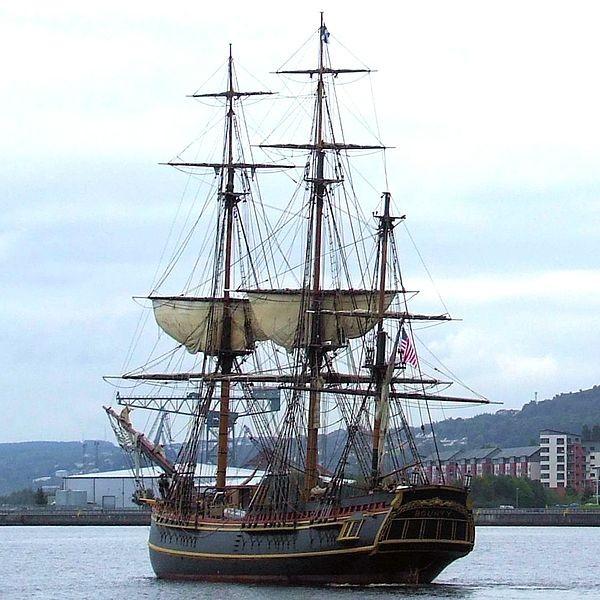 HMS Bounty replica