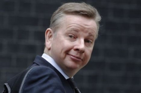 Michael Gove announced partnership with China in 2010