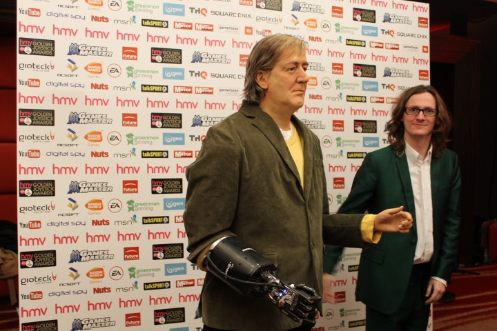 Robotic Stephen Fry