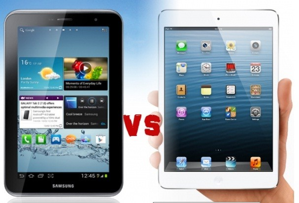 iPad Mini Vs Samsung Galaxy Tab 2 7.0