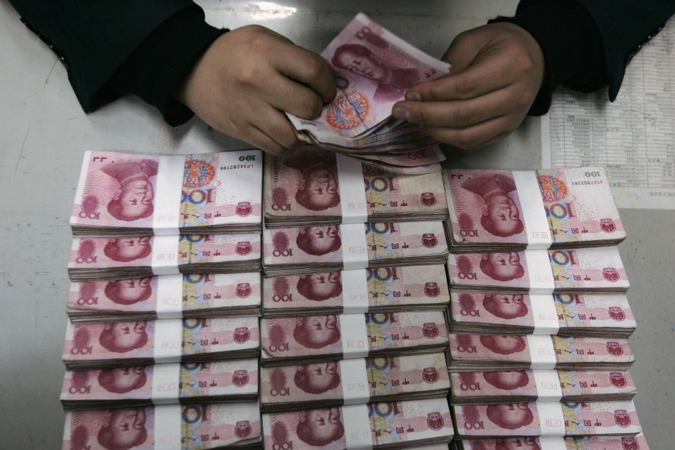 Chinese currency Yuan