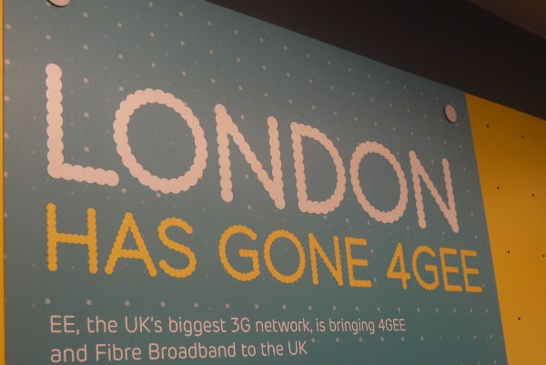 EE 4G Launch