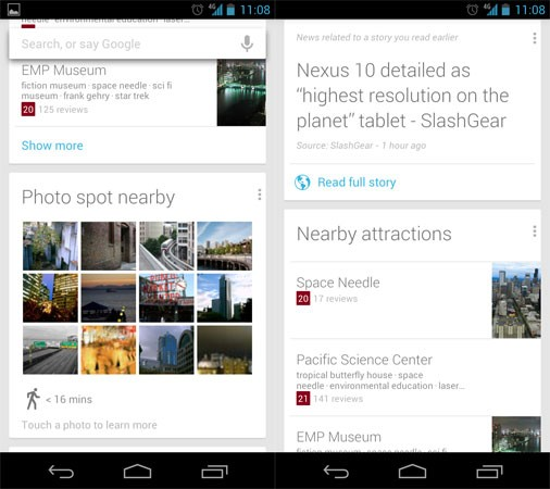 Google Search Updated, Brings New Features for Jelly Bean Devices