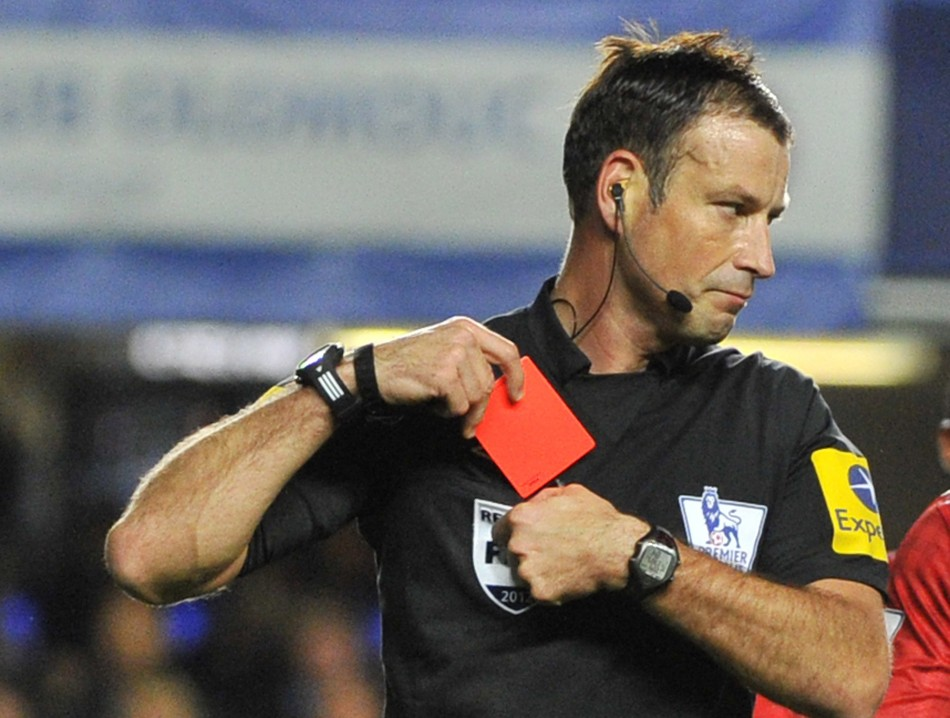 Clattenburg has been suspended from officiating this week