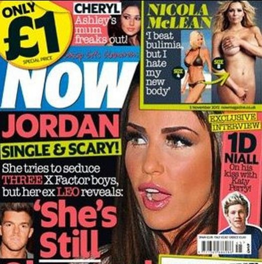 Scottish model Nicola McLean bares all for Now magazine