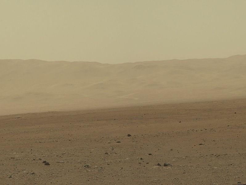 Mars NASA Rover Curiosity