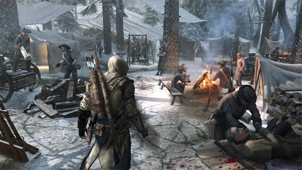 Assassin's Creed III town