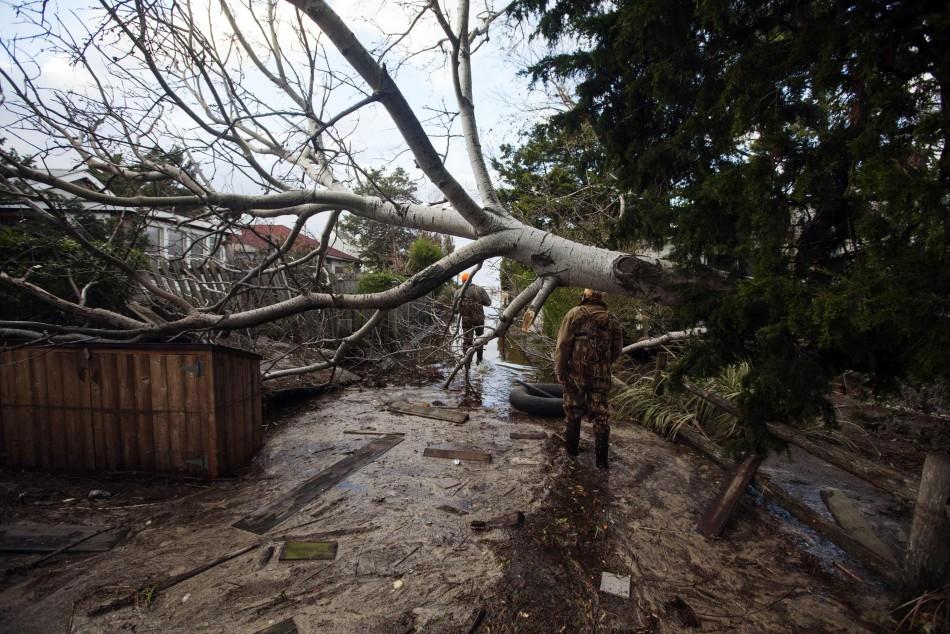 Sandys devastation