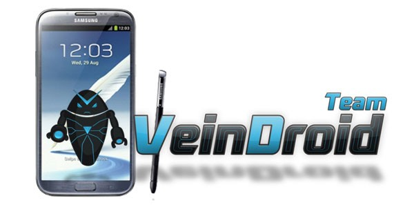 Galaxy Note 2 N7100 Gets VeinDroid ROM Based Jelly Bean Update [How to Install]