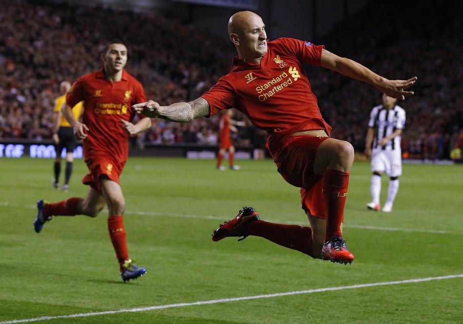 Liverpool's Jonjo Shelvey