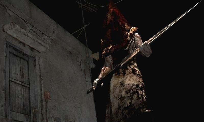 Pyramid Head scary games