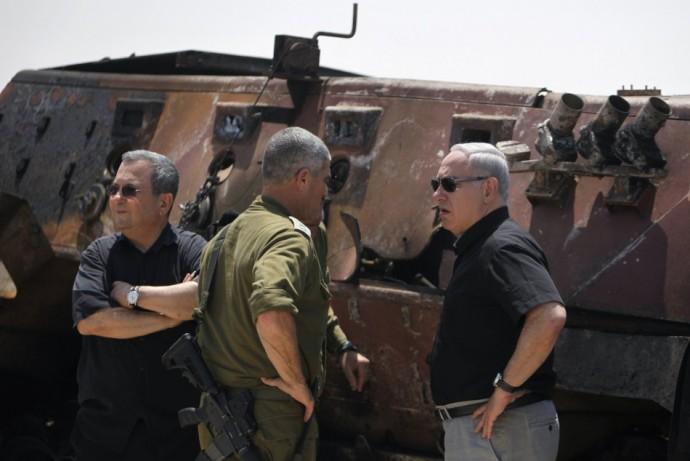 Netanyahu and Ehud Barak