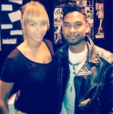 Beyonce and Miguel