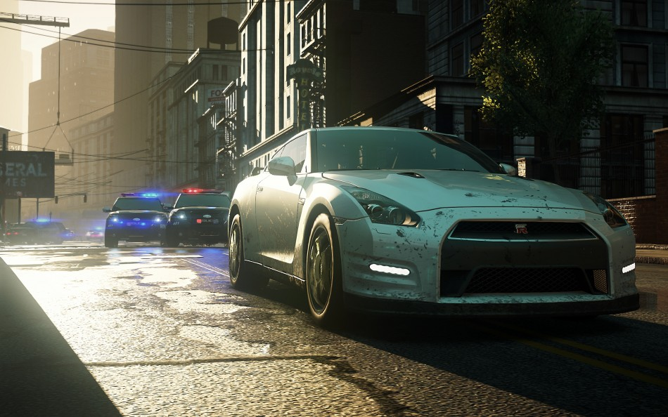 Need for Speed Most Wanted police