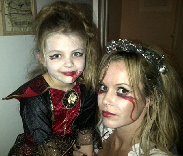 Amanda Holden and daughter Lexi