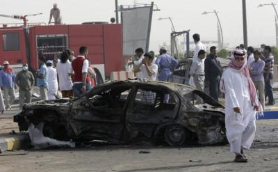 Burned Cars