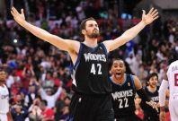 Kevin Love is averaging 17.3 points and 12 rebounds for his career.