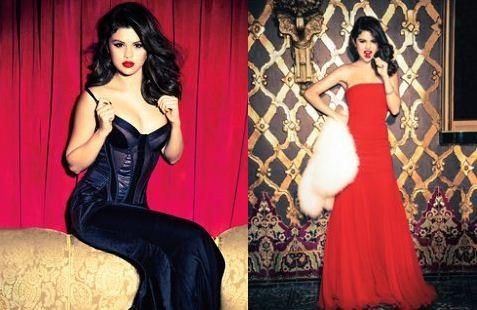 Selena Gomez's December 2012 Glamour Cover-Shoot Gallery