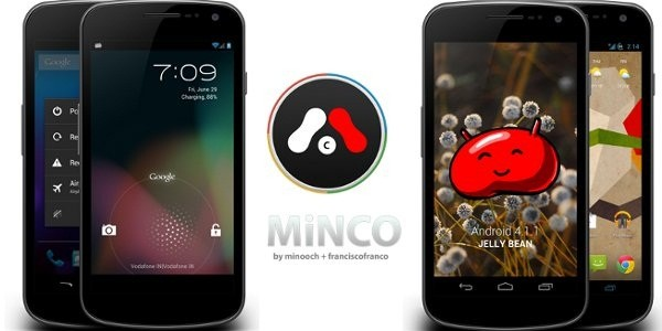 Galaxy Nexus I9250 Tastes Android 4.1.1 MiNCO ROM Jelly Bean [How to Install]