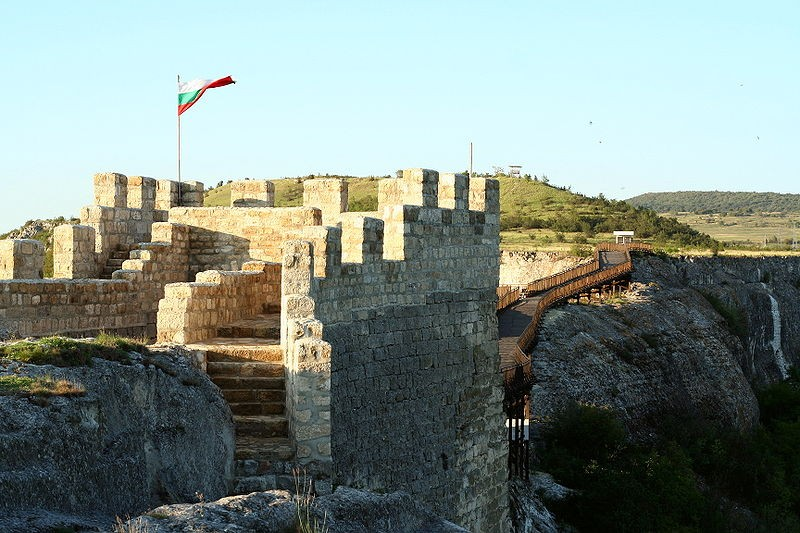 Ovech Castle above Provadia