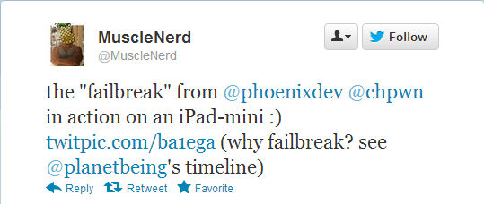 iOS 6 Jailbreak: iPad Mini is Already Jailbroken