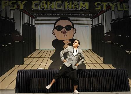 PSY gangnam style (Photo: Reuters)