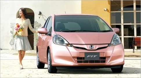 Honda's She Fit car