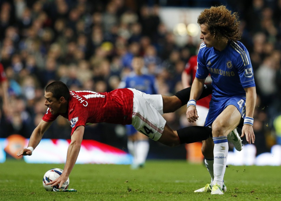 The incident is alleged to have happened during Chelsea's 5-4 extra-time victory over Manchester United at Stamford Bridge (Reuters)