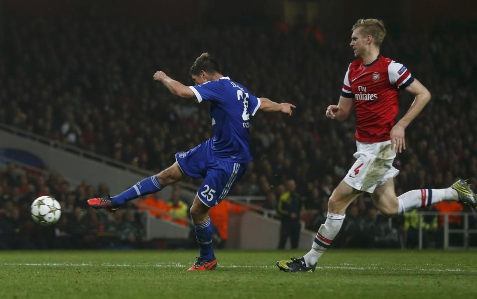 Arsenal v Schalke