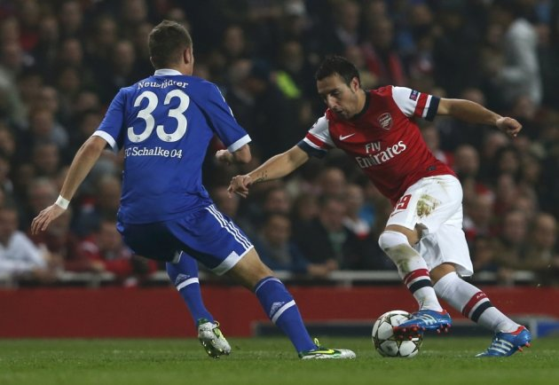Arsenal v Schalke 04