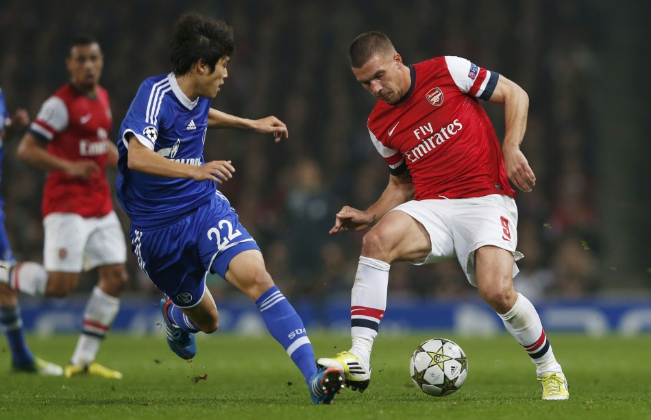 Arsenal v Schalke 04