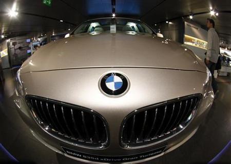 bmw profits fall  european car market slowdown