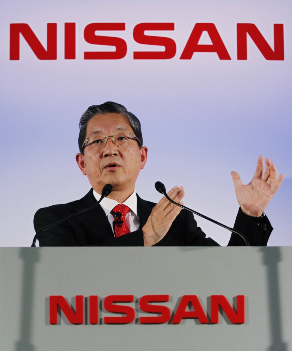 Nissan Motor's COO Toshiyuki Shiga