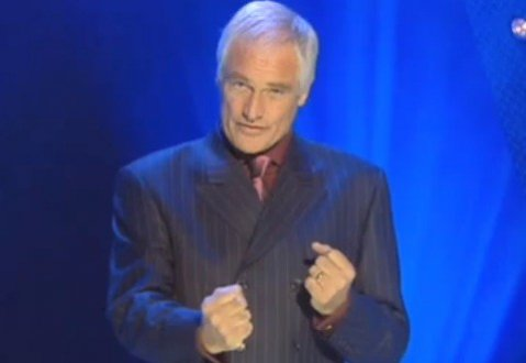 Kilroy-Silk on his short-lived quiz show 'Shafted'