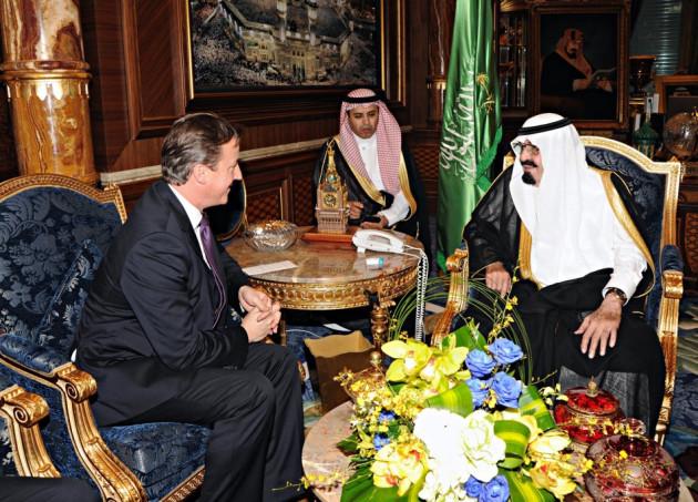 Cameron saudi arabia