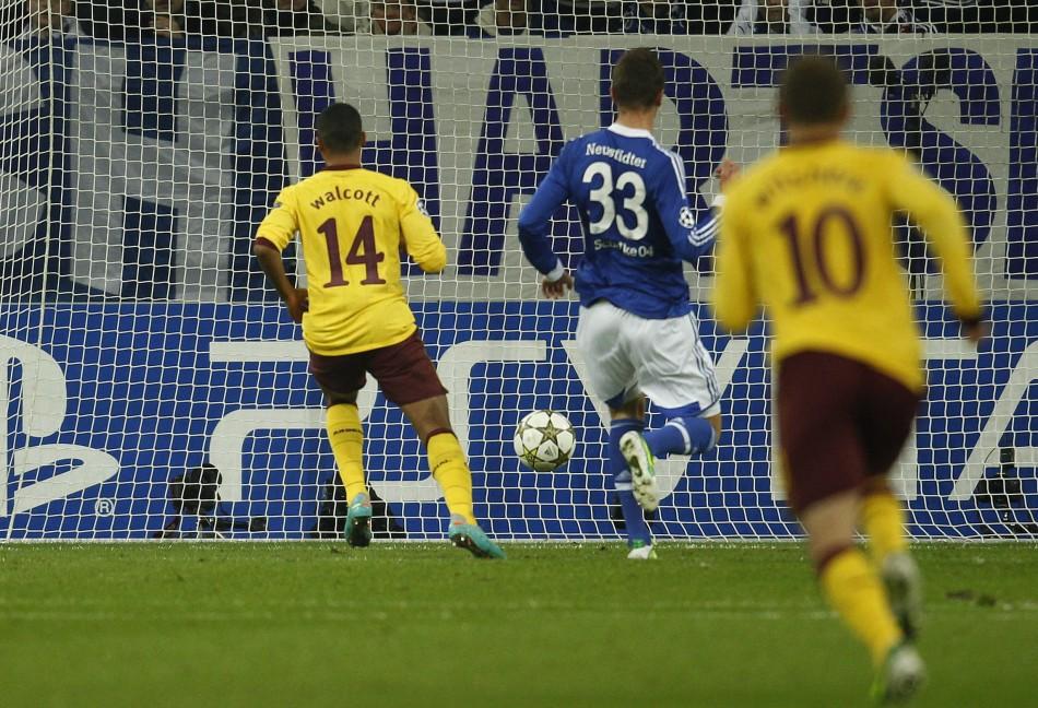Schalke 04 v Arsenal