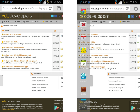 Samsung Galaxy Note 2 Multi-Window Turns Transparent via a Mod [Installation Guide]